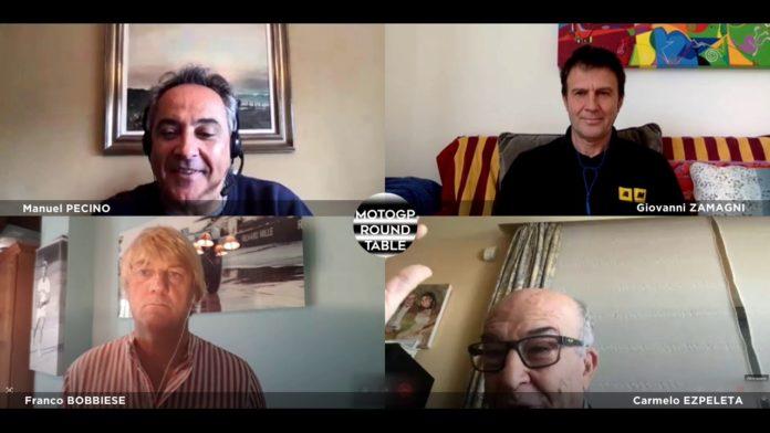 Entrevista a Carmelo Ezpeleta por varios periodistas