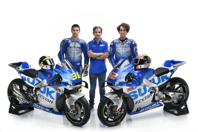 Equipo Suzuki Ecstar de MotoGP 2020