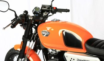 Hanway Raw 125 SR Sport Orange 2017 lleno