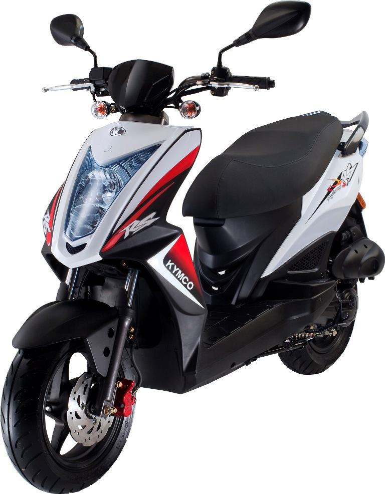 50ccm Motorroller / Roller AGILITY RS NAKED 50 - KYMCO