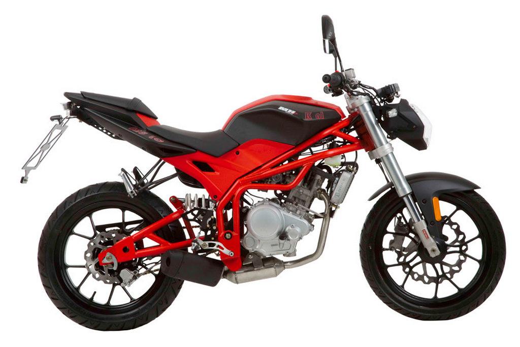 Ficha técnica de la MH Motorcycles KN1 125 Air Cooled 2009