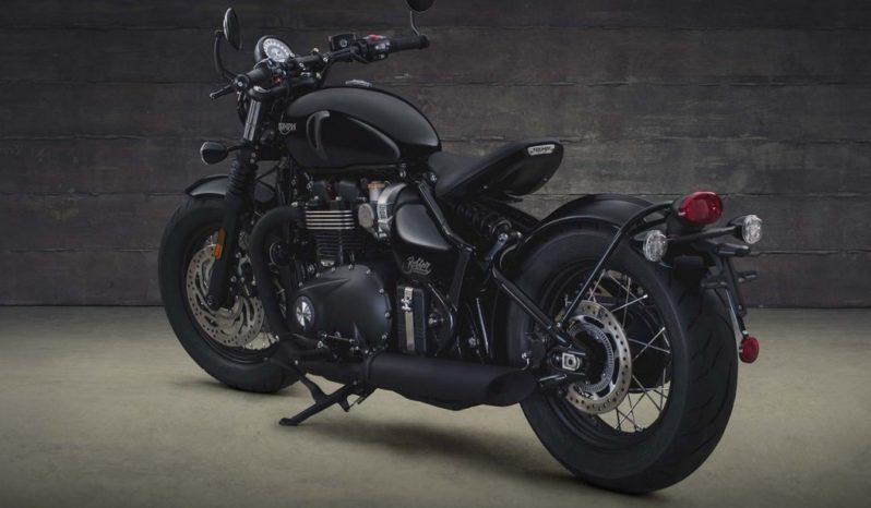 Triumph Bonneville Bobber Black 2018 lleno