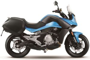 Ficha técnica de la moto CFMoto 650MT