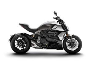 Ficha técnica de la moto Ducati Diavel 1260