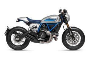 Ficha técnica de la moto Ducati Scrambler Café Racer