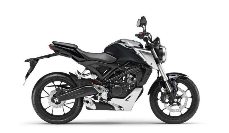 Ficha técnica de la moto Honda CB125R