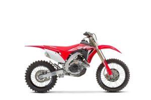 Ficha técnica de la moto Honda CRF450RX 2020