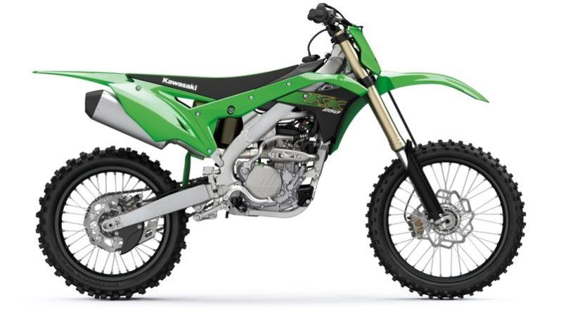 Ficha técnica de la moto Kawasaki KX250 2020