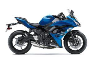 Ficha técnica de la moto Kawasaki Ninja 650 ABS
