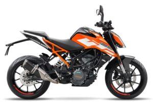 Ficha técnica de la moto KTM 125 Duke