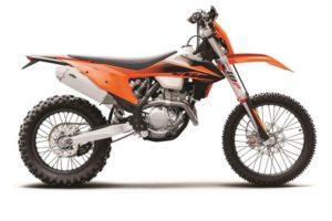 Ficha técnica de la moto KTM 250 EXC-F 2020