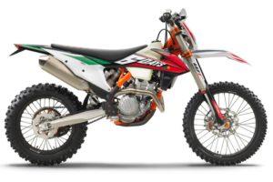Ficha técnica de la moto KTM 250 EXC-F Six Days 2020