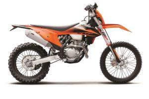 Ficha técnica de la moto KTM 350 EXC-F 2020