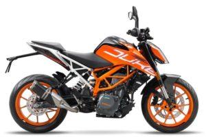 Ficha técnica de la moto KTM 390 Duke
