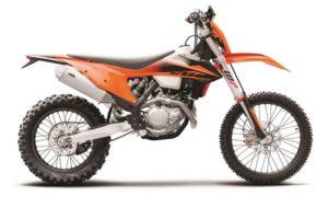 Ficha técnica de la moto KTM 450 EXC-F 2020