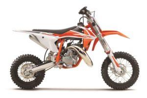 Ficha técnica de la moto KTM 50 SX 2020