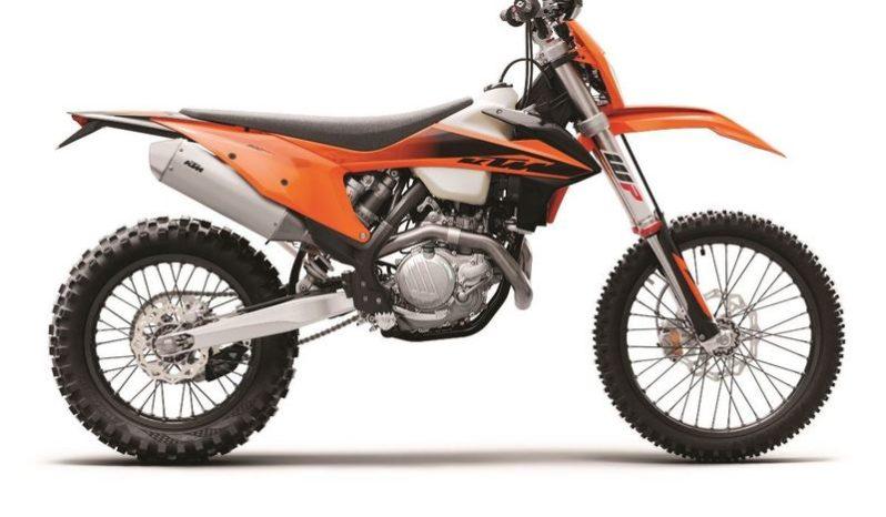 Ficha técnica de la moto KTM 500 EXC-F 2020