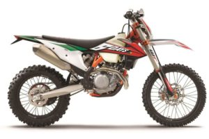 Ficha técnica de la moto KTM 500 EXC-F Six Days 2020