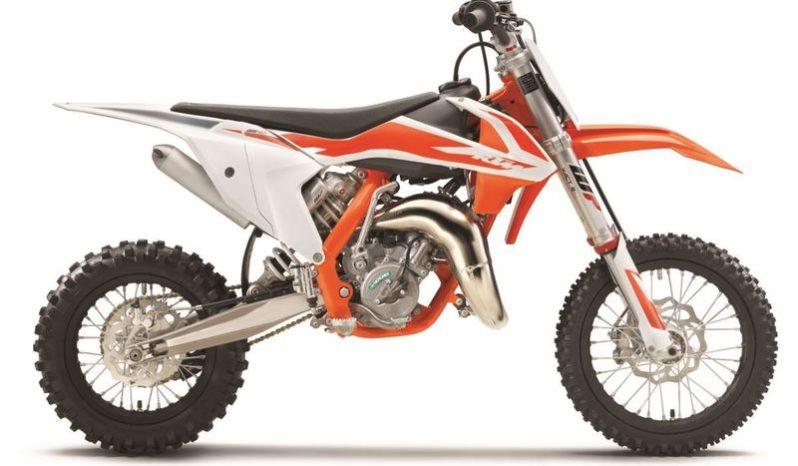 Ficha técnica de la moto KTM 65 SX 2020