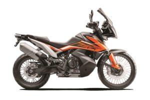 Ficha técnica de la moto KTM 790 Adventure