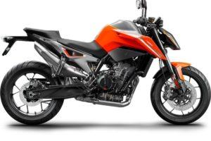 Ficha técnica de la moto KTM 790 Duke