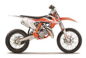 Ficha técnica de la moto KTM 85 SX 2020
