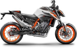 Ficha técnica de la moto KTM 890 Duke R 2020