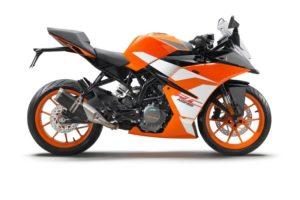 Ficha técnica de la moto KTM RC 125