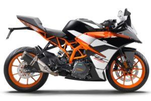 Ficha técnica de la moto KTM RC 390