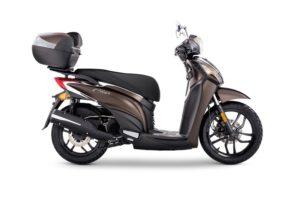 Ficha técnica de la moto Kymco Miler 125