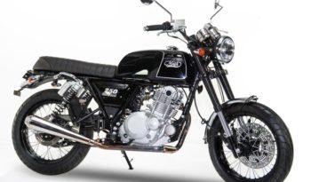 Ficha técnica de la moto Mash Black Seven 250