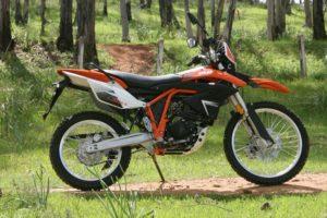 Ficha técnica de la moto MH MHX 125