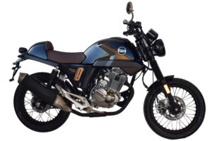 Ficha técnica de la moto MH Revenge Bravo 125