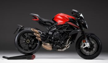 Ficha técnica de la moto MV Agusta Dragster 800 Rosso 2020