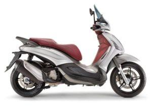 Ficha técnica de la moto Piaggio Beverly Sport Touring 350i ABS