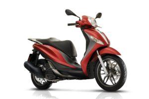 Ficha técnica de la moto Piaggio Medley 150