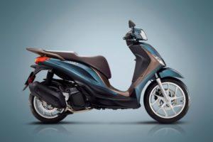 Ficha técnica de la moto Piaggio Medley 150 2020