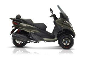 Ficha técnica de la moto Piaggio MP3 350 LT