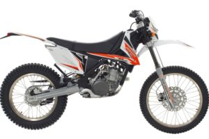Ficha técnica de la moto Scorpa 280 T-Ride