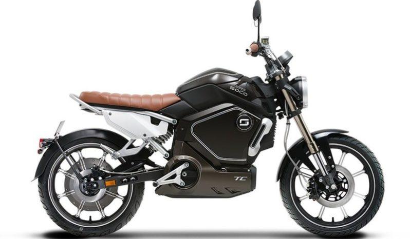 Ficha técnica de la moto Super Soco TC50