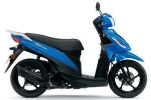 Ficha técnica de la moto Suzuki Address