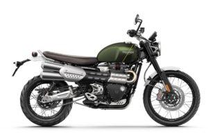 Ficha técnica de la moto Triumph Scrambler 1200 XC