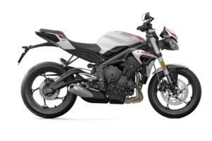 Ficha técnica de la moto Triumph Street Triple S A2 2020