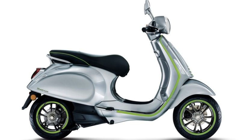 Ficha técnica de la moto Vespa Elettrica