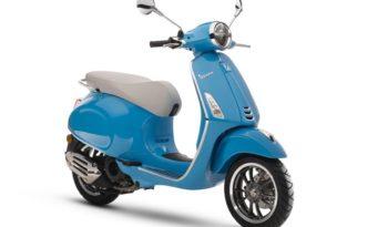 Ficha técnica de la moto Vespa Primavera 50 50º Aniversario