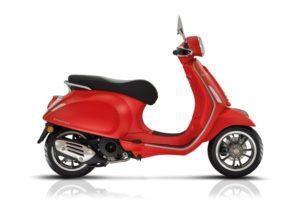 Ficha técnica de la moto Vespa Primavera 50 S
