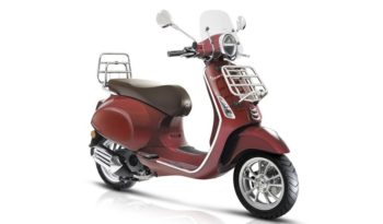 Ficha técnica de la moto Vespa Primavera 50 Touring