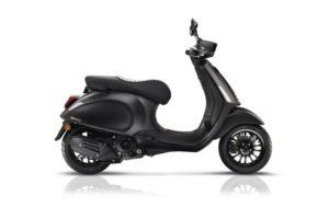 Ficha técnica de la moto Vespa Sprint 50 Notte