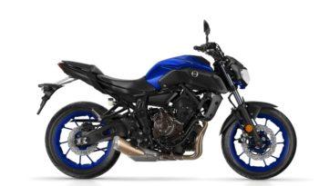Ficha técnica de la moto Yamaha MT-07