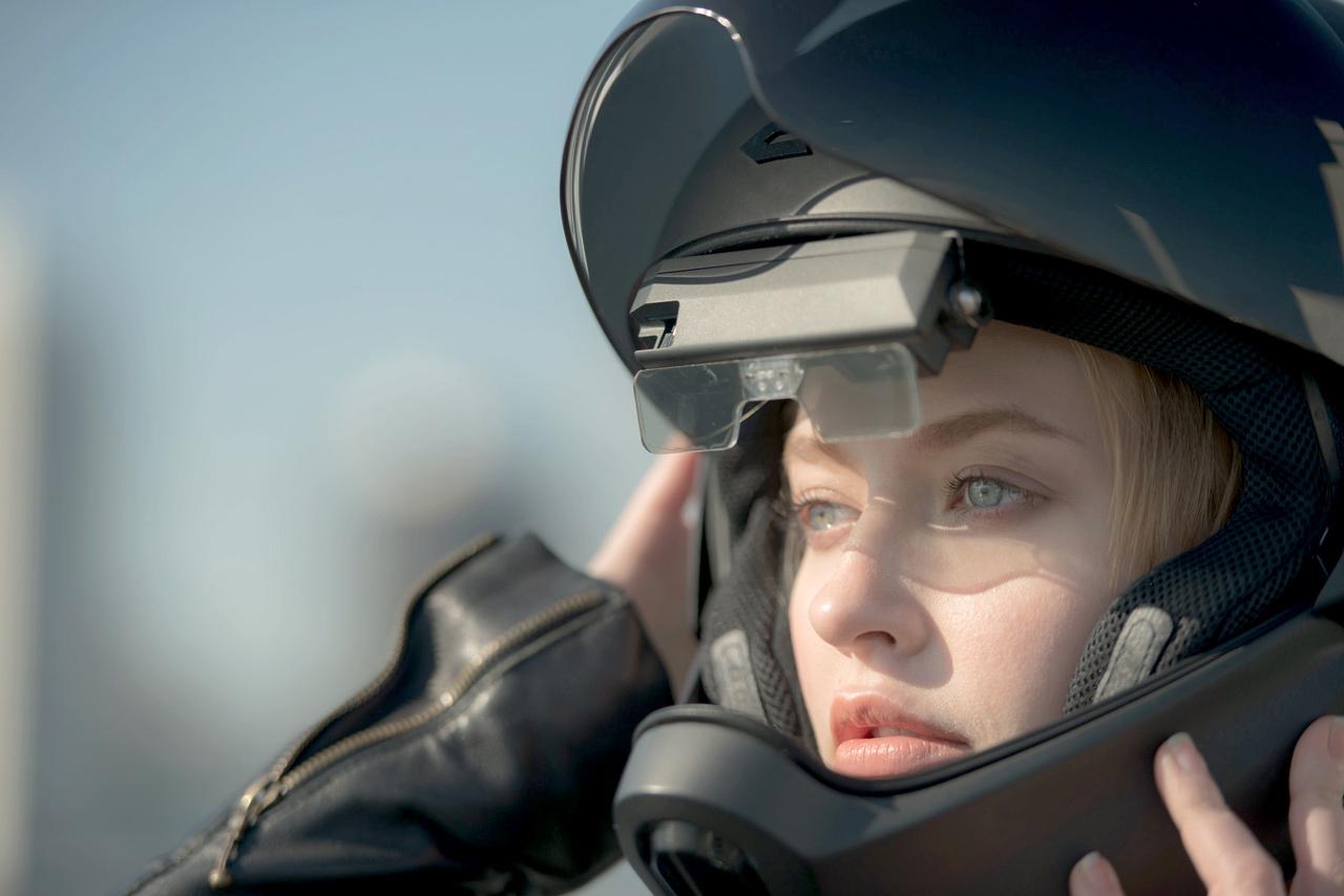 CrossHelmet, el casco de moto del futuro ya está aquí - Masmoto.es